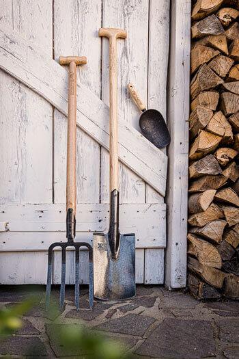 Arbeitsgeräte für den Garten